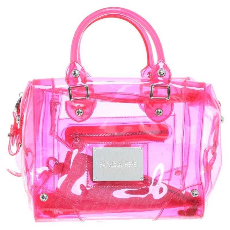Patrizia Pepe Transparente Tasche in Pink