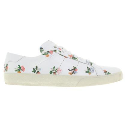 Saint Laurent Sneakers mit floralem Muster