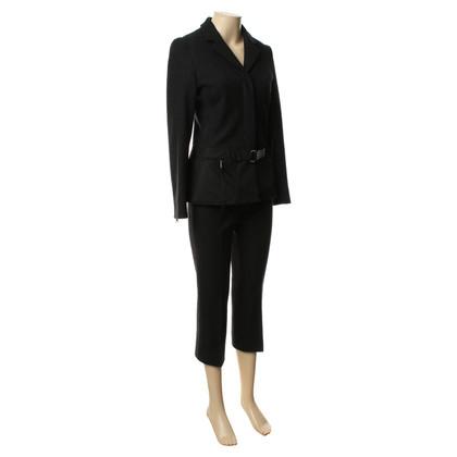 Prada Elegant wool suit in dark grey