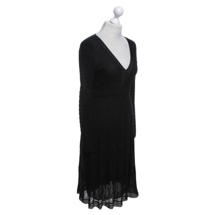 Missoni Semitransparent dress in black