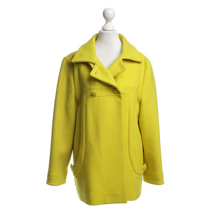 Marni Coat in yellow