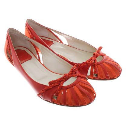 Christian Dior Ballerine in Red