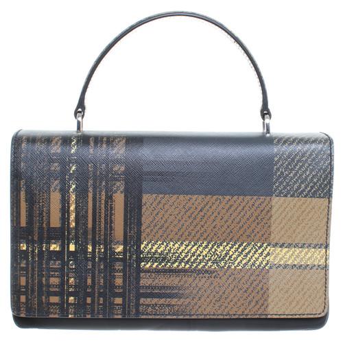 Prada Saffiano leather handle bag - Second Hand Prada Saffiano ... 2e0bdd0636057