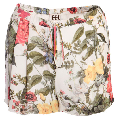 Haute Hippie Shorts with floral pattern