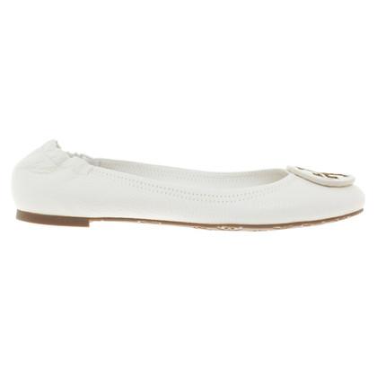 Tory Burch Ballerinas in Weiß
