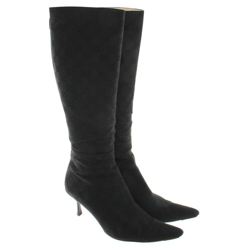 b9a3178caa1 Gucci Boots in Black - Second Hand Gucci Boots in Black buy used for ...