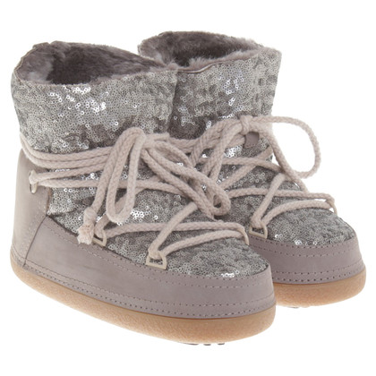 IKKII Short boots with sequins
