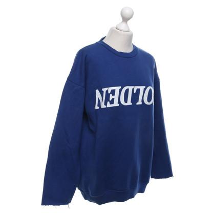 Golden Goose Sweatshirt in blauw