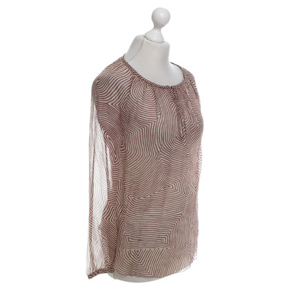 Isabel Marant Etoile Silk dress with pattern