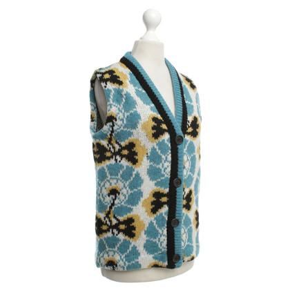 Miu Miu Knitted vest pattern
