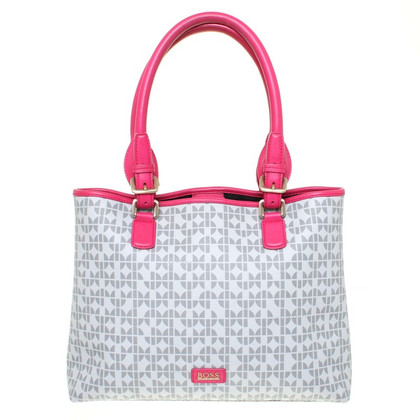 Boss Orange Handbags-set in grey/pink