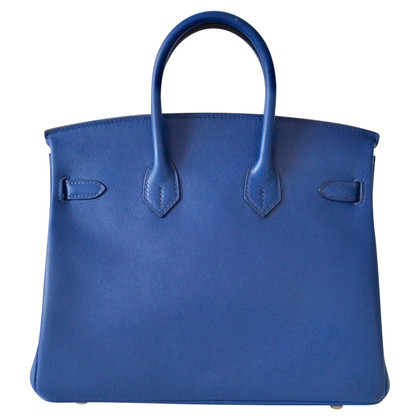 """Hermès """"Birkin Bag 25 Swift Bleu Sapphire"""""""