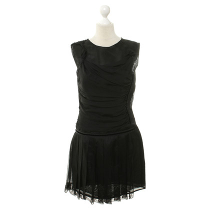 D&G Black silk dress