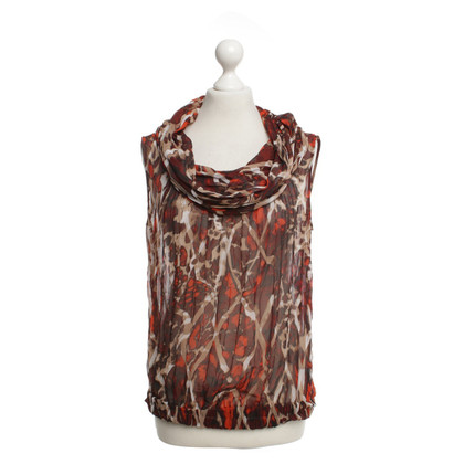 Escada Blouse with flower pattern