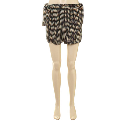 Isabel Marant Etoile Shorts in seta con stampa