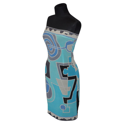 Emilio Pucci Bandeau dress with pattern