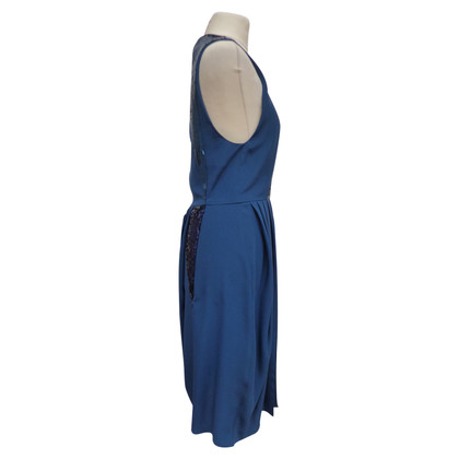 Christian Dior Petrol colored dress
