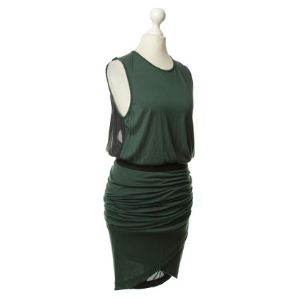 By Malene Birger Vestito con ruches verde