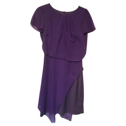 Karen Millen Silk dress in purple