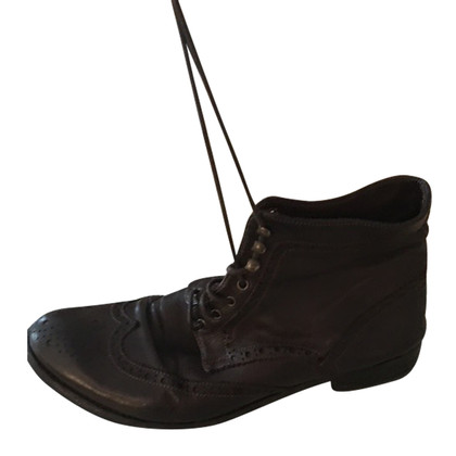 Officine Creative Dark brown ankle boots