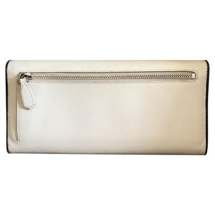 Prada White leather wallet
