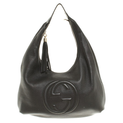 """Gucci """"Soho"""" Tas in zwart"""