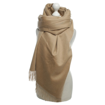 Other Designer Eric Bompard - cashmere scarf in beige