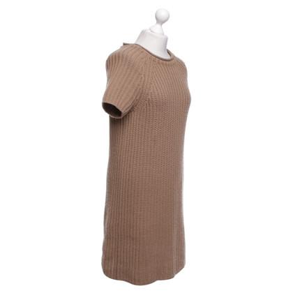 Malo Knit dress in brown