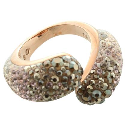Swarovski Ring mit Strasssteinen