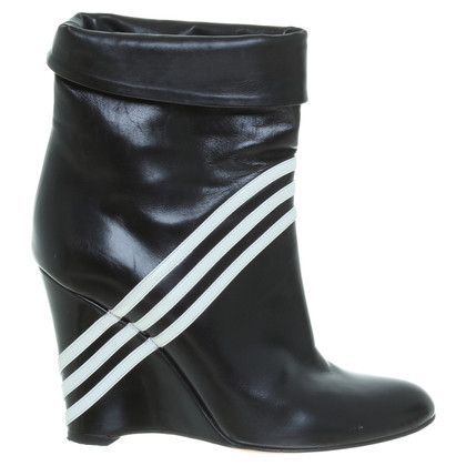 Y-3 Wedge ankle boots in black