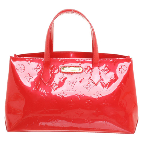 e0fd2020c419 Louis Vuitton Handbag Patent leather in Red - Second Hand Louis ...