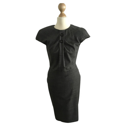 Talbot Runhof Shift dress with houndstooth pattern