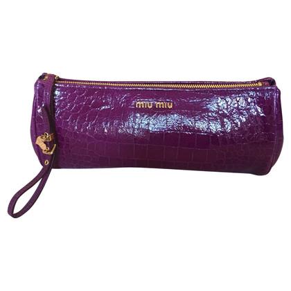 Miu Miu Handbag in crocodile leather look