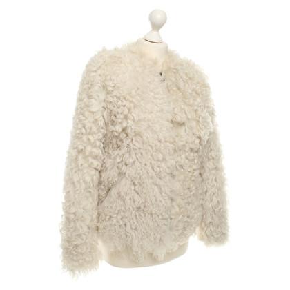 Isabel Marant Etoile schapenvacht jas