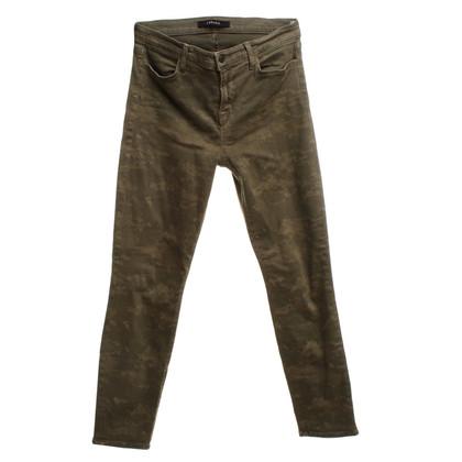 J Brand Jeans con motivo mimetico