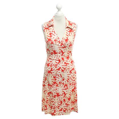 Diane von Furstenberg Silk dress with pattern