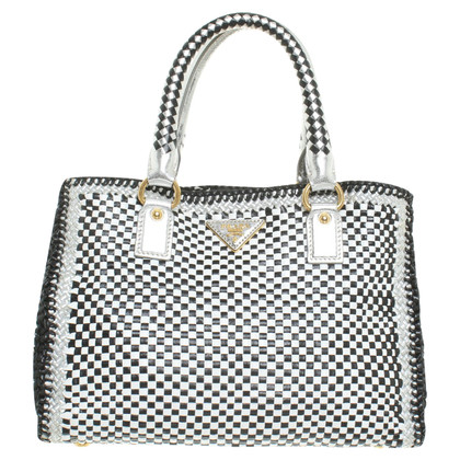 Prada Bag in zwart / White