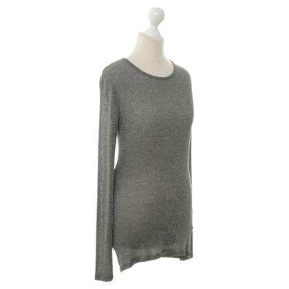 Joseph Knit sweater in silver