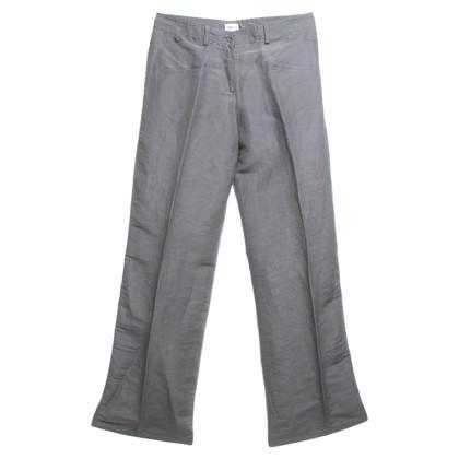 Armani Collezioni pantaloni Marlene in grigio