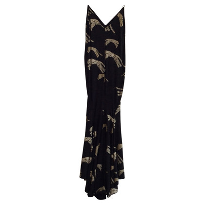 Roberto Cavalli Dress with leopard print
