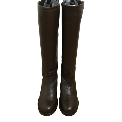 Navyboot Boots in dark brown