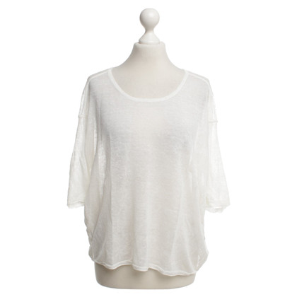 Duffy Top in bianco