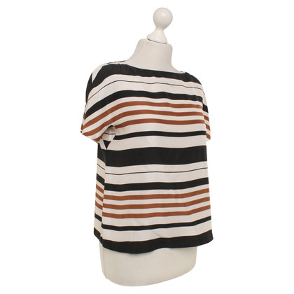 Tara Jarmon top with stripe pattern