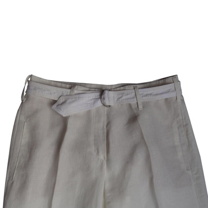 Windsor pantaloni di lino, lana bianca
