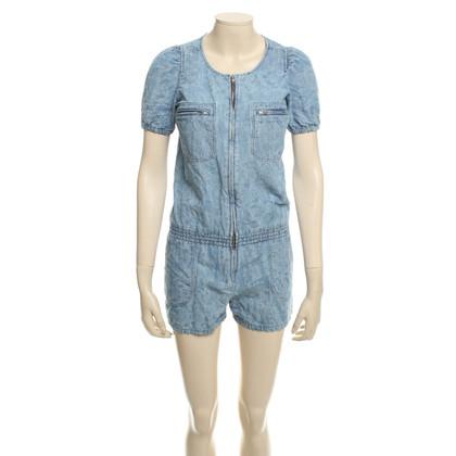 Isabel Marant Etoile Kurzer Jeans-Jumpsuit
