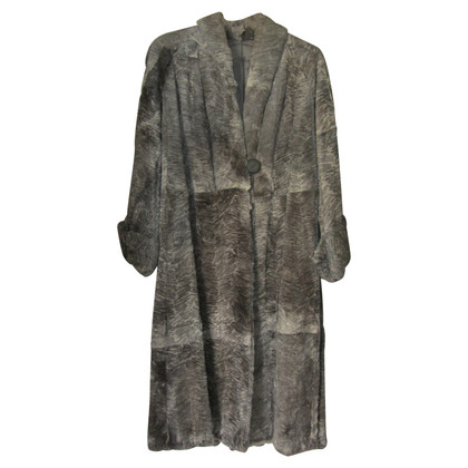 Fendi Grey fur coat