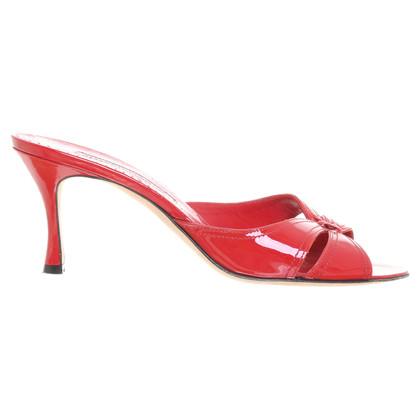 Manolo Blahnik Brevetti stiletti in rosso