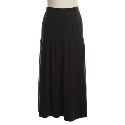 Rena Lange MIDI-wool skirt in grey