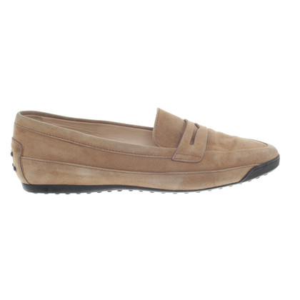 Tod's Loafer aus Wildleder