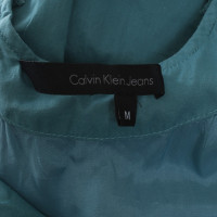 Calvin Klein Turquoise cotton dress